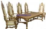 Set Kursi Makan Raja Mewah