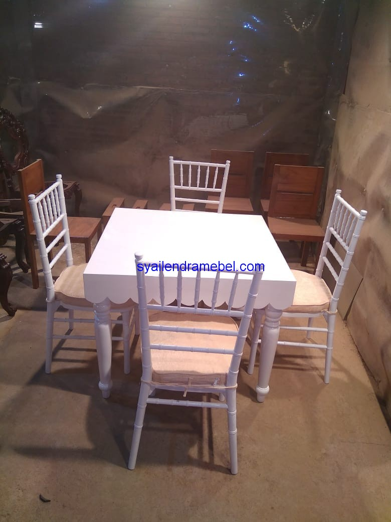 Set meja Makan resepsi,furniture Decor