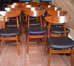 Kursi Cafe Minimalis Mewah Jepara
