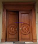Kusen Pintu Jati Solid Mewah
