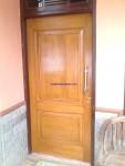 Pintu Kayu Jati Minimalis Jepara