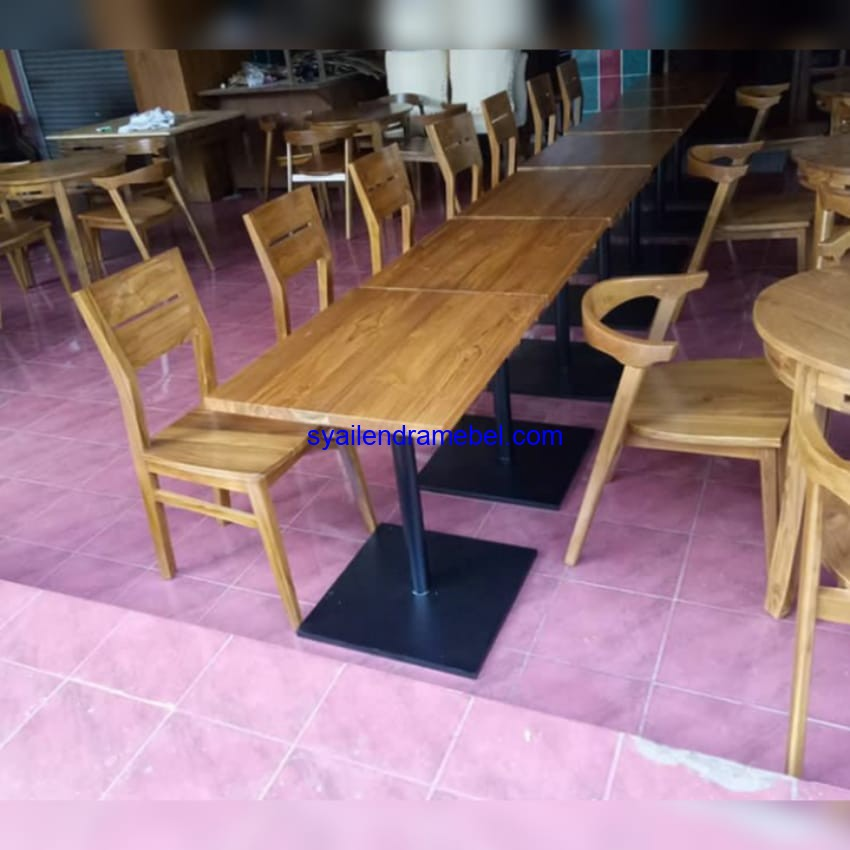 Jual Kursi Set Cafe Minimalis