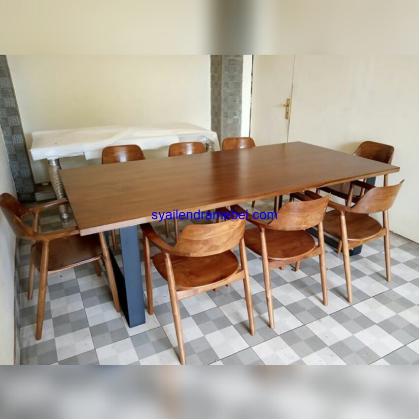 Set Kursi Cafe Kayu Jati Solid