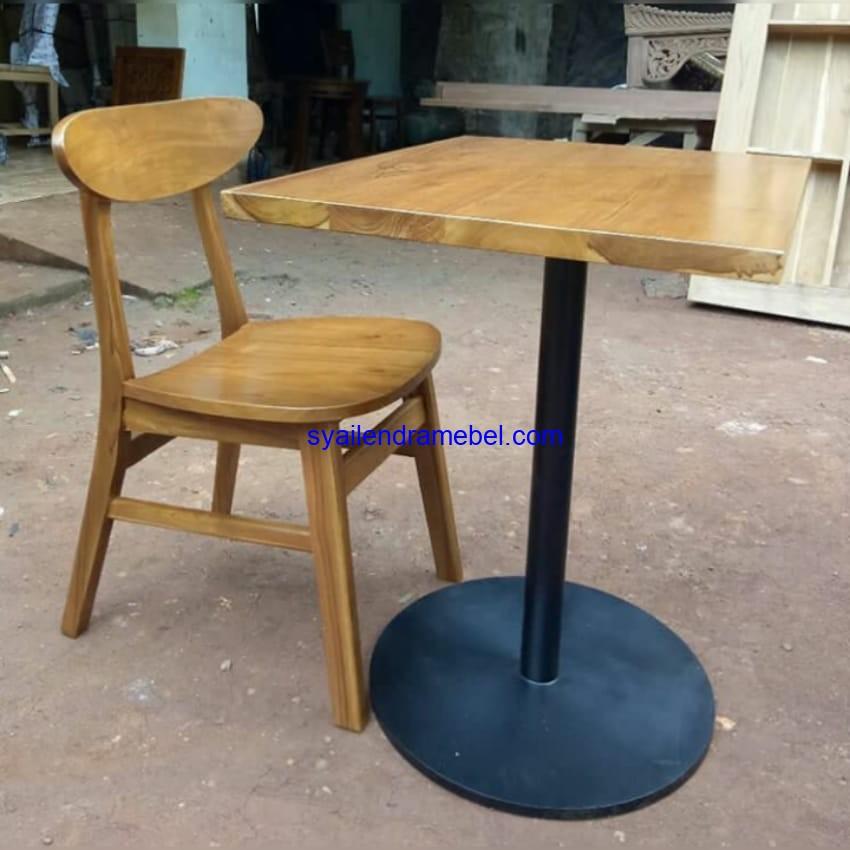 Set Kursi Cafe Minimalis Ropan