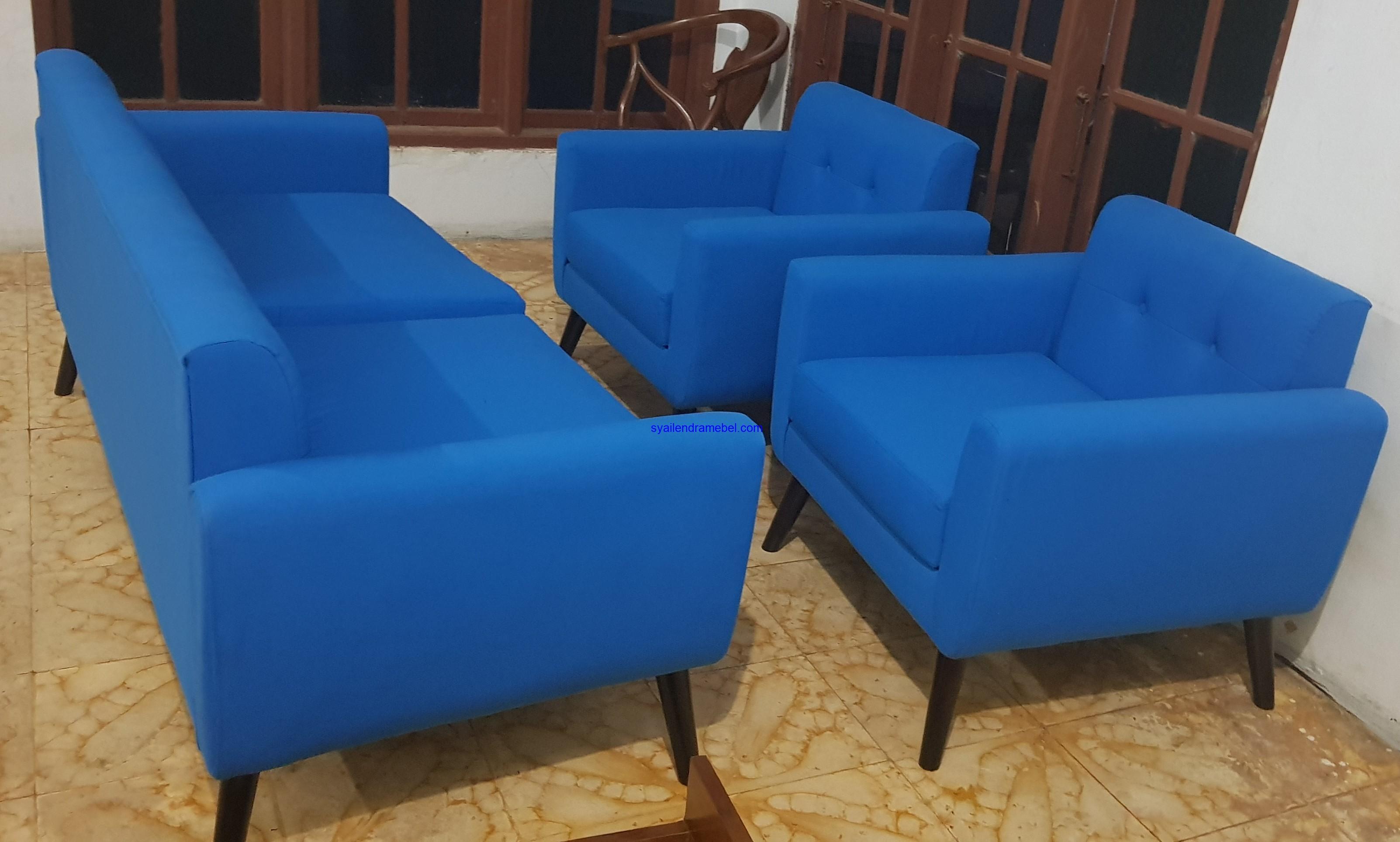Kursi Tamu Sofa Minimalis Retro