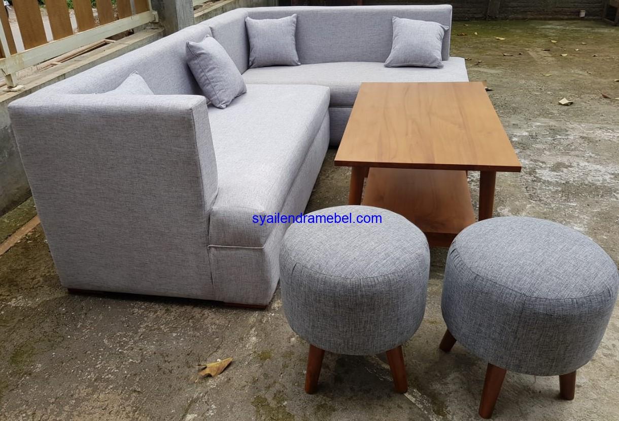 Kursi Sofa Tamu Minimalis Retro