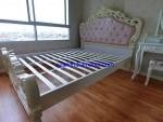 Dipan Tempat Tidur Cream Shabby