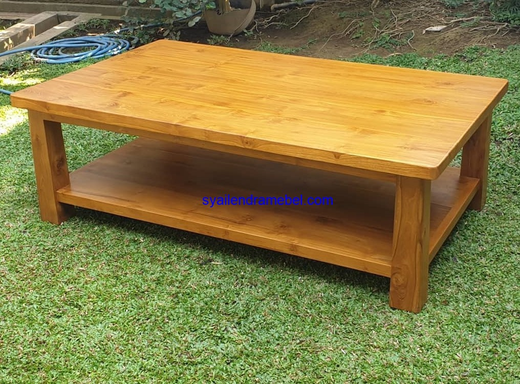Coffe Table Kayu Jati
