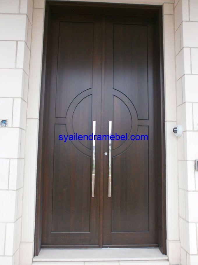 Kusen Dan Pintu Jati Minimalis