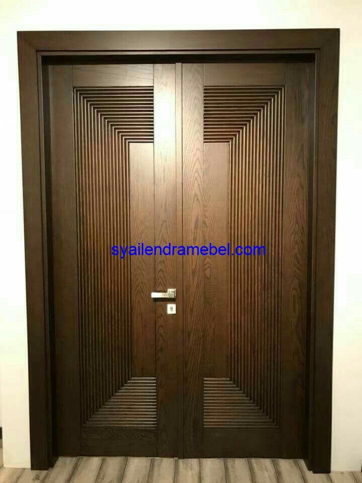 Kusen Pintu Jati Menteri