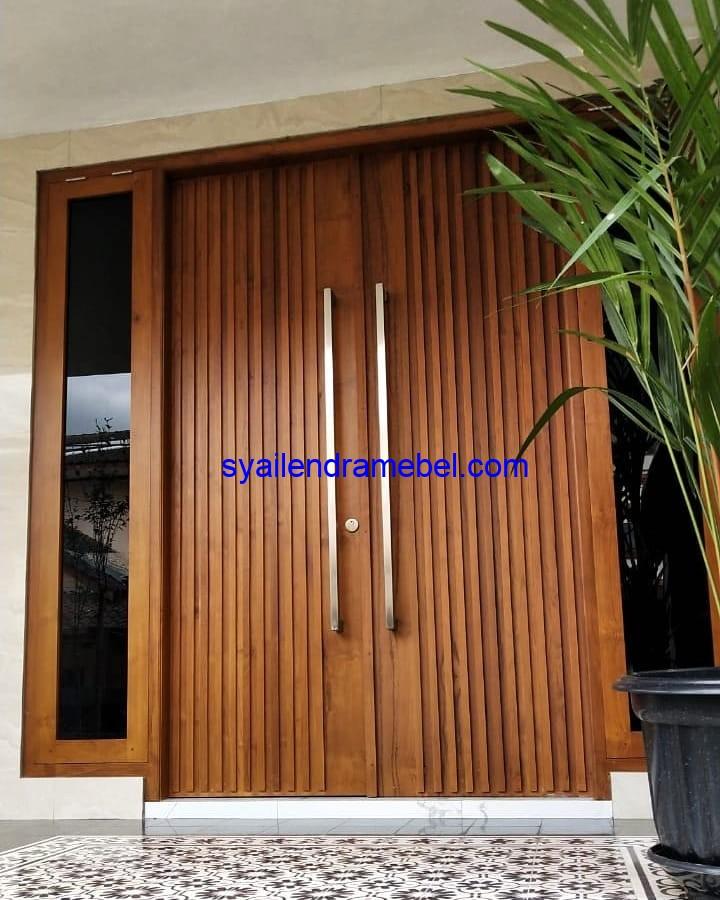 Kusen Pintu Jati Model Salur
