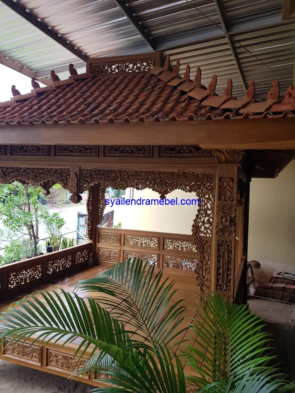 Jual Saung Kayu Jati