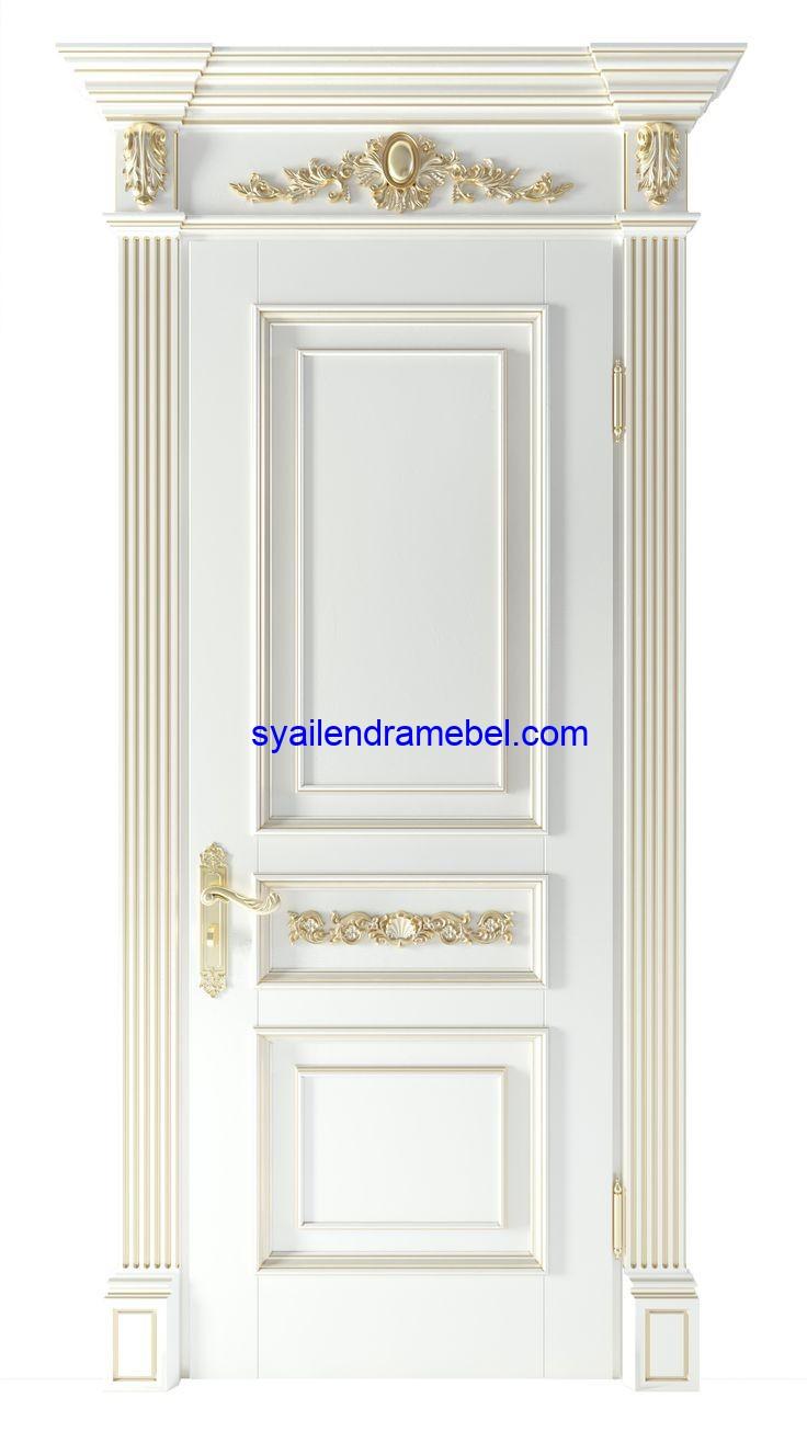Kusen Pintu Klasik Mewah